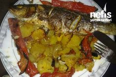 Fırında Levrek Balığı Tarifi