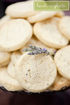 Sweet Cheeks Baking Co. Lemon-Lavender Cookies.   (Heidi-o-photo)