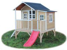 6300 kr, legehus loft 350 beige - Exit legehus 500411 Shop - Eurotoys - Legetøj online
