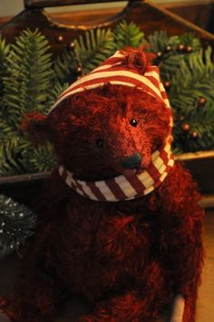 The Spotted Hare......red bear all ready for Winter