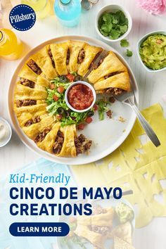 Celebrate Cinco de Mayo by creating a fiesta the kids will love. We've pulled together festive activities, crafts, party food ideas, and Cinco de Mayo recipes that you can make any time of day. Ask your family to brainstorm with you, and make your day one to remember.