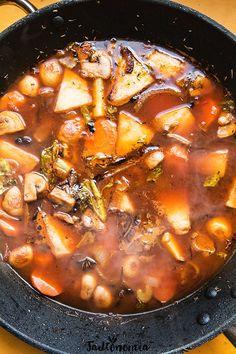 Wegański grzybowy sos pieczeniowy » Jadłonomia · wegańskie przepisy nie tylko dla wegan