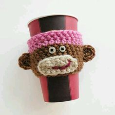 Monkey cup sleeve
