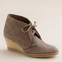 JCrew fall boots. got the identical ones by Franco Sarto but in wooden wedges. love FALL fashion!