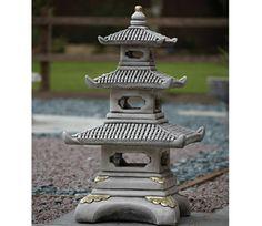 Borderstone Three Tier Pagoda Garden Ornament - GardenSite.co.uk