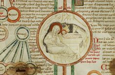 Compendium historiae in genealogia Christi, MS M.689 fol. 10r - Images from Medieval and Renaissance Manuscripts - The Morgan Library & Museum