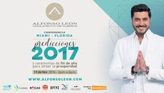 La Navidad prácticamente está aquí, y con ella llegará el 2017. Alfonso León, el Arquitecto de Sueños, llega a Miami con su gran conferencia de fin de año. #WhatToDoInMiami Miami, End Of Year, Mouths, Architects, Xmas