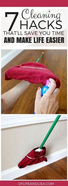 7 Simple Cleaning Hacks That'll Save You a Ton of Time
