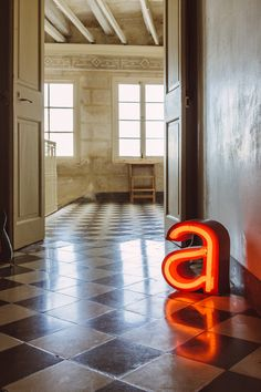 Hot House, House 2, Large Letters, Neon Signs, Colours, Hem, Flooring, Lights, Decorating