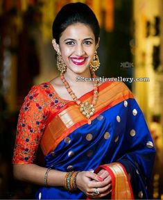 This Royal blue color soft silk fabric saree features with designer pattern saree. Saree comes along with unstitched soft silk fabric blouse piece having similar work as shown in pic. Perfect for festivals and occasions. Royal Blue Saree, Blue Silk Saree, Orange Saree, Soft Silk Sarees, Orange Blouse, Black Saree, Sari Bluse, Bollywood Designer Sarees, Cotton Sarees Online