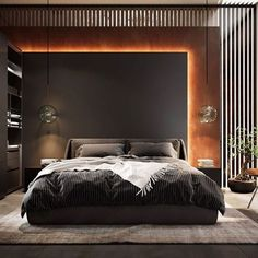Pin by Harvey Houle on Bedroom bed design in 2020 (With images) Modern Luxury Bedroom, Master Bedroom Interior, Luxury Bedroom Design, Modern Master Bedroom, Home Room Design, Master Bedroom Design, Luxury Interior Design, Minimalist Bedroom, Luxurious Bedrooms