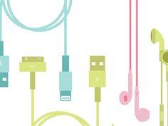 Apple Vector Products by Soledad Martinez