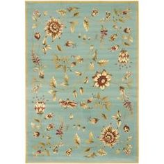 @Overstock.com - Lyndhurst Zen Gardens Blue Rug (8 x 11) - An intricate Oriental design and dense, thick pile highlight this power-loomed rug. This rug combines great styling and comfort with a durable powerloomed construction making this ultra low shedding rug easy to maintain.  http://www.overstock.com/Home-Garden/Lyndhurst-Zen-Gardens-Blue-Rug-8-x-11/6520713/product.html?CID=214117 $277.99