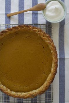Braided Bourbon Pumpkin Pie (MUST.MAKE.DEC.)
