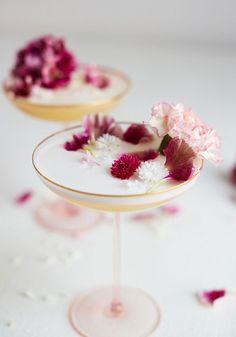 Martini aux fleurs