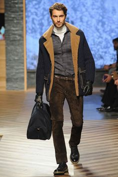 Ermenegildo Zegna Fall 2012 Menswear