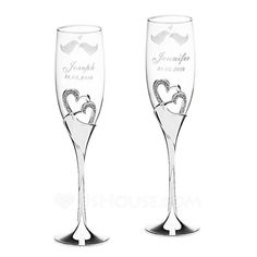 Personalized Favors - $54.99 - Personalized Lovely Birds Glass Toasting Flutes (Set of 2) (118040920) http://jjshouse.com/Personalized-Lovely-Birds-Glass-Toasting-Flutes-Set-Of-2-118040920-g40920?snsref=pt&utm_content=pt