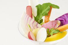 Colorful Vegetable Bagna Cauda http://g-veggie.com/gandv/