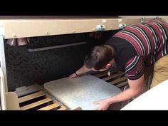 How to build caravan bunk beds - YouTube