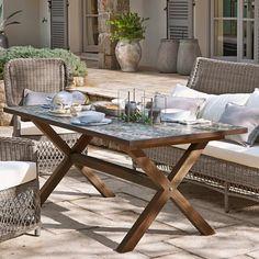 Garten Sitzgruppe 5 Teilig Gartentisch 140cm Bis 200cm 4x Stuhle