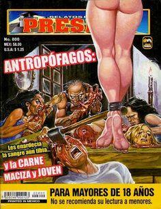 Mexican horror magazines Anthropophagus