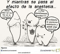 zonadental odontologos odontology dientes teeth tooth zonadentaltv dentista Dental, Dentistry, Spanish, Mad, Humor, Frases, Hipster Stuff, Humour, Spanish Language