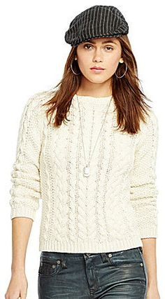 Polo Ralph Lauren Cable-Knit Sweater on shopstyle.com
