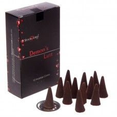 Stamford Black Incense Cones - Demons Lust Incense is an inexpensive way of adding fragrance and ambience to your home and we have a huge collectio Incense Cones, Incense Sticks, Wiccan Home, Nag Champa Incense, Unique Candles, Smudge Sticks, Stamford, Incense Burner, Home Fragrances