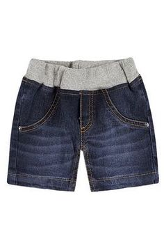 Bermuda Jeans Bebê Menino Com Elástico Na Cintura Redo Clothes, Sewing Clothes, Sari Blouse Designs, Denim Ideas, Recycle Jeans, Altering Clothes, Denim And Lace, Clothing Hacks, Bermuda Jeans