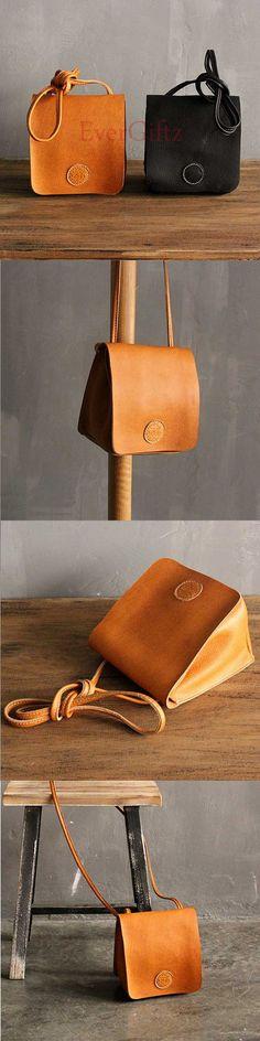 Handmade leather vintage women phone bag shoulder bag crossbody bag #bags #bagsfemale #bagswomen #bagscanada