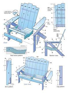 adirondack chair plan