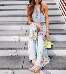 3f1245be70dda 10 Best floral jumpsuit images   Floral jumpsuit, Printed jumpsuit ...