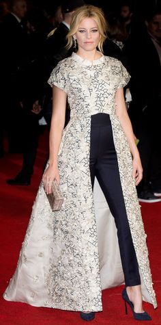 Look of the Day - Elizabeth Banks  - from InStyle.com The Hunger Games: Mockingjay, Part 2 UK premiere.