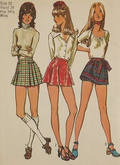 Vintage 70's Sewing Pattern Misses Bloomers by SuzisCornerBoutique, $10.00