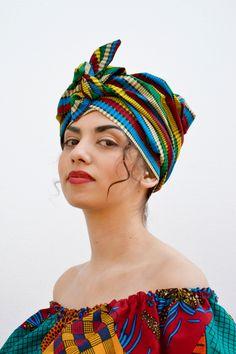 Turban handmade by Sonja Rieser