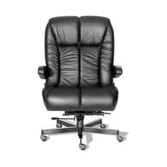 ERA Products Office Chairs Comfort Plus+ Series Newport Ultra Executive Chair Casters: Carpet, Upholstery: Navy/Black