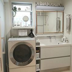 Bathroom/ダイソー/洗面所/DIY/セリア/シンプル...などのインテリア実例 - 2016-11-20 03:32:47