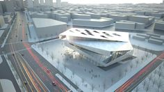 Urban Planning Museum | Architects Collective http://www.arch2o.com/urban-planning-museum-architects-collective/