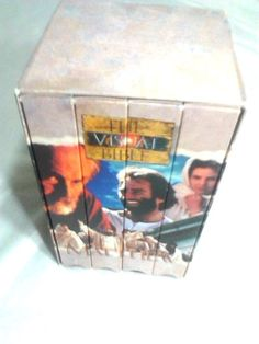 The Visual Bible Matthew -VHS, 4-Tape Set-Boxed Set-NIV Word for Word