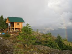 Weekend Cabin: Tin Hat Cabin, British Columbia