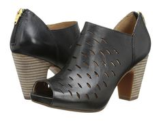 Clarks Okena Posh Black Leather - Zappos.com Free Shipping BOTH Ways