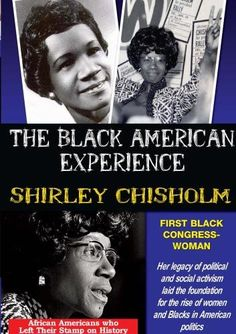 Shirley Chisholm: First Black Congresswoman African American Studies, Black African American, African American History, Shirley Chisholm, Folding Chair, Civil Rights, Black History, Read More, Oklahoma