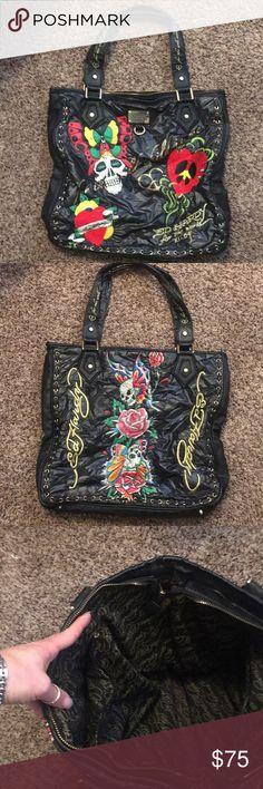 Ed Hardy Shoulder bag Ed Hardy shoulder bag Make me an offer! Ed Hardy Bags baa10883ab
