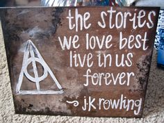 Harry Potter Quote by allisonrohrman on Etsy, $20.00