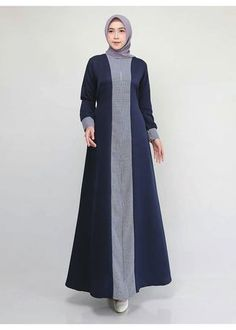 Modesty Fashion, Abaya Fashion, Fashion Dresses, Mode Abaya, Mode Hijab, African Print Dress Designs, Moslem Fashion, Muslim Dress, Hijab Dress