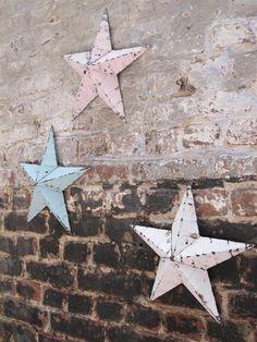 Étoile en métal Amish /Small metal barn star