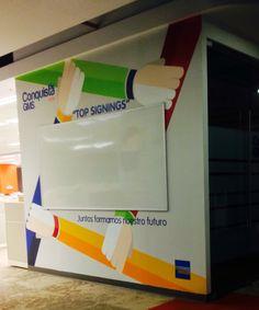 Mural campaña interna...