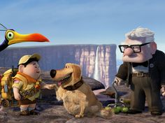 "Up might have been rendered as a digital ""cartoon"" in the vein of Toy Story, but it's anything but a kid"