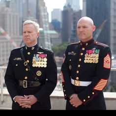 Commandant & SgtMaj of the Marine Corps,USMC.you won't pull any BS with these two Military Police, Military Veterans, Usmc, Military Spouse, Military Service, Once A Marine, My Marine, Us Marine Corps, Men In Uniform