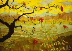 Apple Tree with Red Fruit, Paul Ranson